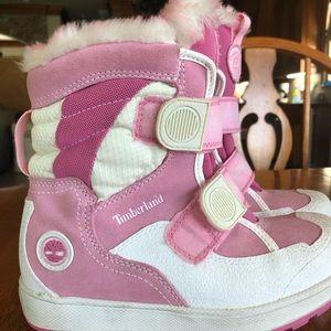 Timberland girls snow boots